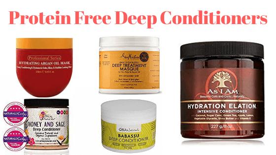 Protein free deep conditioner
