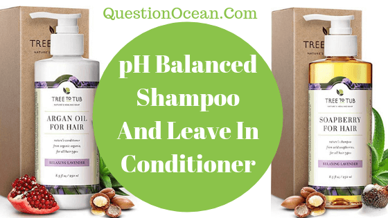 pH Balanced Shampoo And leave in Conditioner
