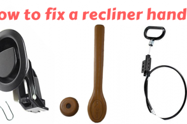 How to fix a recliner handle