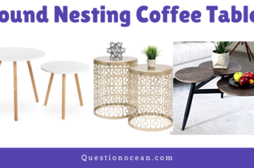 Round nesting Coffee Table