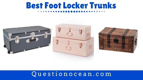 foot locker trunk