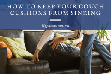 Sinking Couch Repair