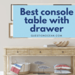 best console table with drawer